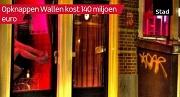 AT5 Opknappen Wallen kost 140 miljoen euro