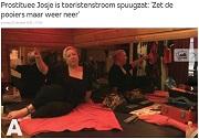 AT5 Prostituee Josje is toeristenstroom spuugzat
