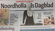 Noordhollands Dagblad 2 juli 2015 - voorpagina