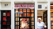 Amsterdam 08-08-2018 We Live Here campagne de WallenFoto: Tammy van Nerum