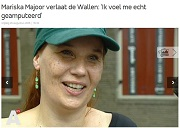 AT5 Mariska Majoor verlaat de Wallen