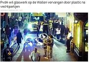 AT5 PvdA wil glaswerk op Wallen vervangen door plastic