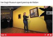 AT5 Van Gogh Museum opent pand op de Wallen