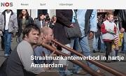 NOS Straatmuzikantenverbod in hartje Amsterdam