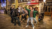 Nachtleven rond het Rembrandtplein en het Leidseplein