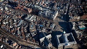 Amsterdam, het decor voor de inhuldiging