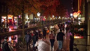Amsterdam, 4 november 2016 - De Oudezijds Achterburgwal. Foto: Mats van Soolingen