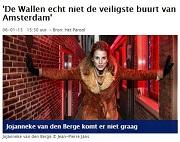 Wallen niet de veiligste buurt van Amsterdam