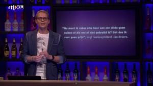 Uitspraak Jan Broers bij RTL Late Night